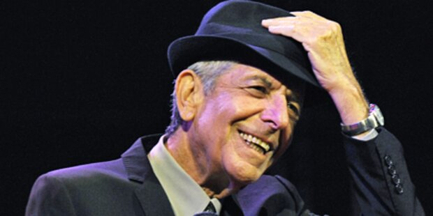 Leonard Cohen singt im Römersteinbruch