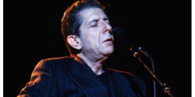 Leonard Cohen kommt nach Wien