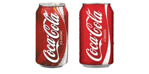 Coca-Cola bekommt eine neue Dose