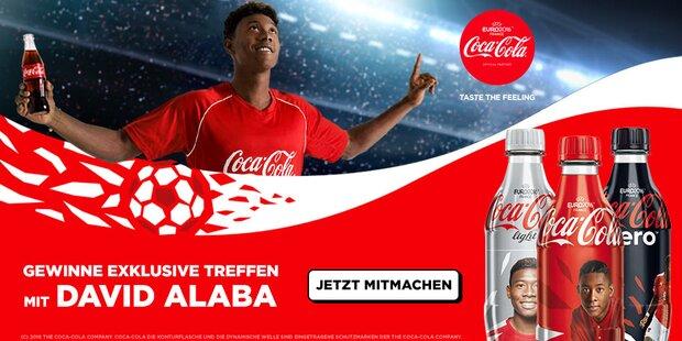 Anzeige Coca Cola