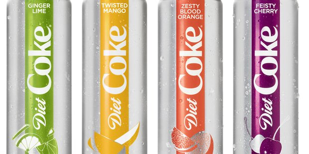 Coca-Cola bringt neue Sorten