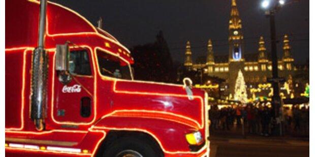 Der Cola-Truck kommt jetzt nach Wien!