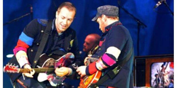 Coldplay: Die Britpop-Stars rockten Stadthalle