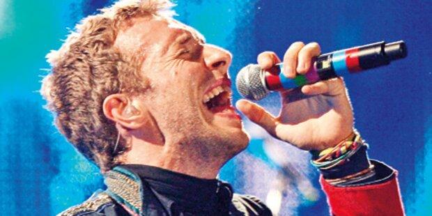 Reinhören: Christmas-Single von Coldplay