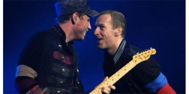 Coldplay und Jonas Brothers Favoriten für Grammy