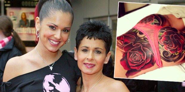 Po-Tattoo schockt Cheryl Coles Mutter