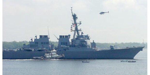 USA schützen den Libanon mit Kriegsschiff