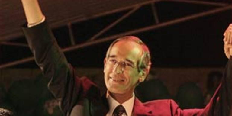 Colom neuer Präsident Guatemalas