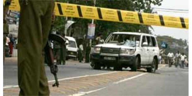 Minister in Sri Lanka bei Bombenanschlag getötet