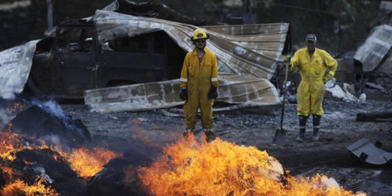 Wadbrände: Die Hölle auf Erden