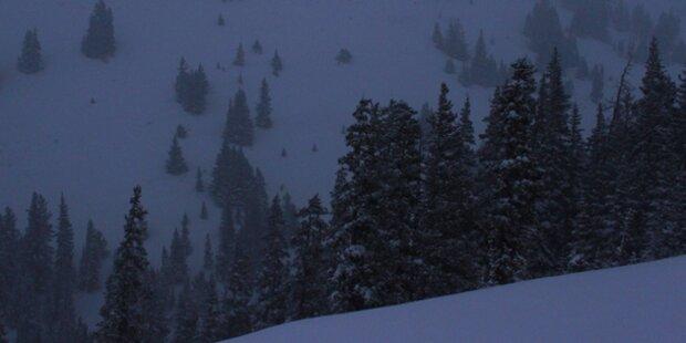 Lawine tötet fünf Snowboarder