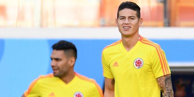Kolumbien zittert um seinen Superstar