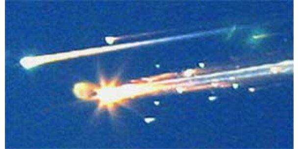 Columbia-Crew starb binnen 40 Sekunden