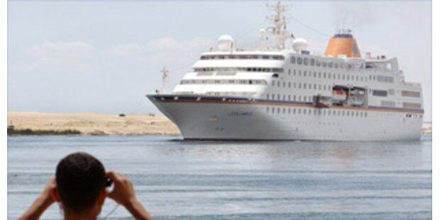 Deutsches Luxusschiff wird evakuiert