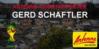 Antenne WM Reporter Gerd Schaftler