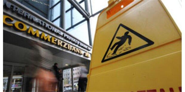 Commerzbank streicht Filialen und Jobs