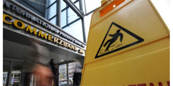 Commerzbank nimmt Staatshilfe in Anspruch