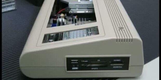 Start für den neuen Commodore C64x