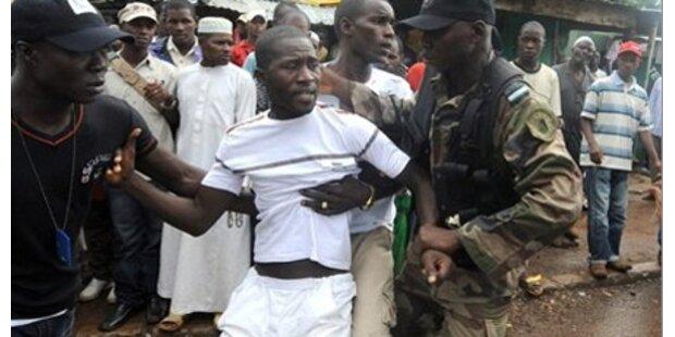 157 Tote auf Conakrys Straßen