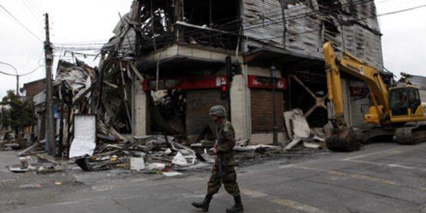 Stadt Concepcion um 3 Meter verschoben