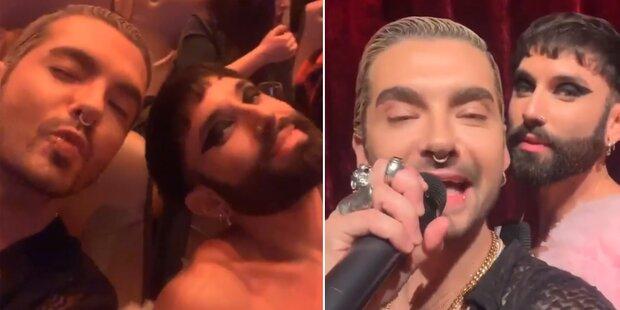 Conchita und Bill Kaulitz: Was läuft denn da?