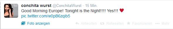Conchita Wurst Twitter