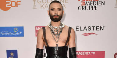 Schocker: Conchita jetzt mit Fetisch-Look