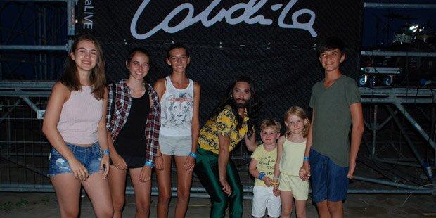 Conchita: Ein Herz für jüngste Fans