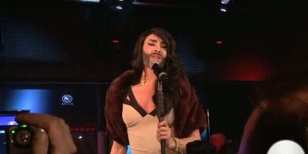 Conchita Wurst ist Baku - Wettkönigin