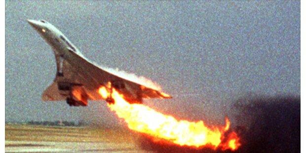 Geldstrafen wegen Concorde-Absturz