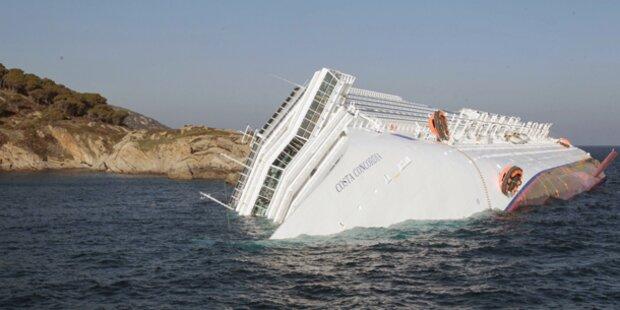Video: Kreuzfahrtschiff gekentert