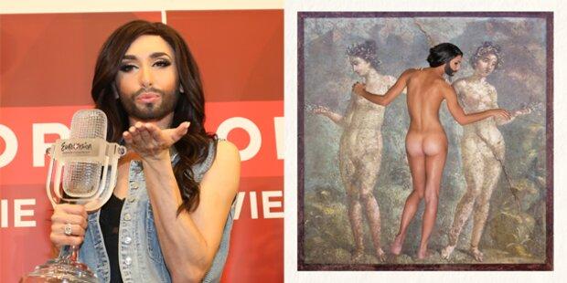 Conchita Wurst zeigt ihren Knackpo