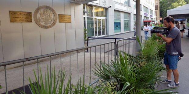 Bomben-Fehlalarm: US-Konsulat evakuiert