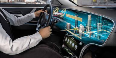 Österreicher sehen vernetztes Fahren als Auto-Zukunft