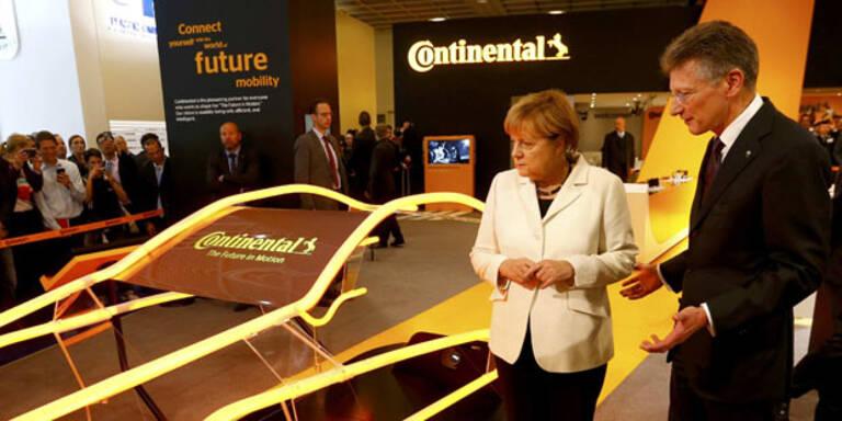 Continental zeigt neue Wunder-Reifen