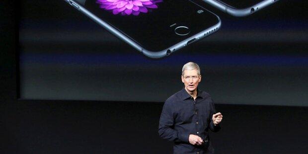 Apple glänzt mit neuen Rekordzahlen