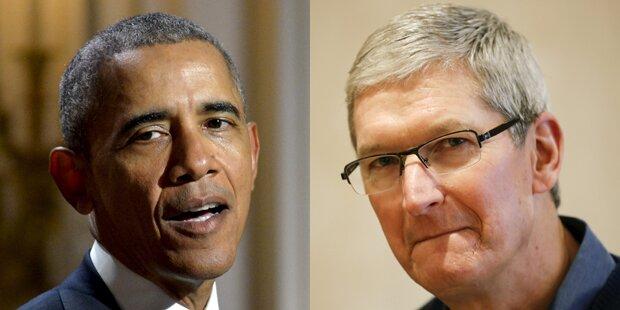 iPhone-Streit: Apple-Chef schaltet Obama ein