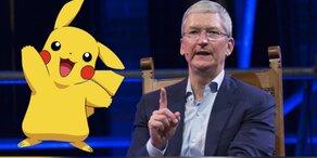 Apple-Chef blamiert sich