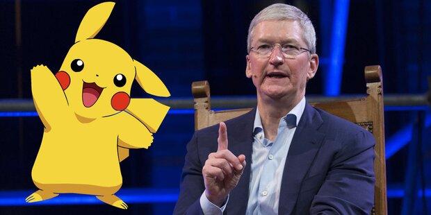 Apple-Chef blamiert sich mit Pokémon Go