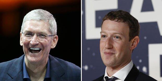Zuckerberg attackiert Apple-Chef