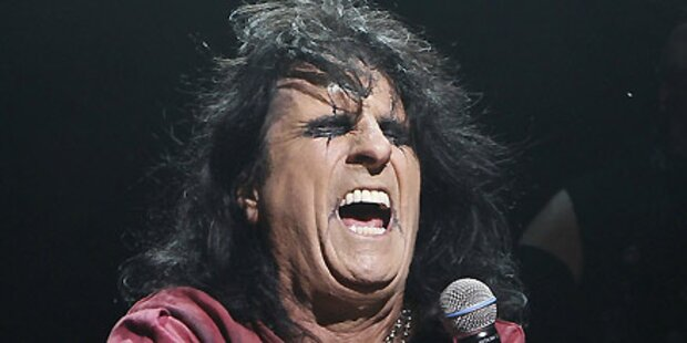 Cooper in der Rock 'n' Roll Hall of Fame