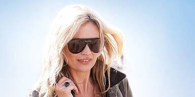 Supermodel Kate Moss kommt doch nicht
