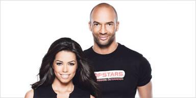 Popstars Österreich - Fernanda Brandao und Detlef D. Soost