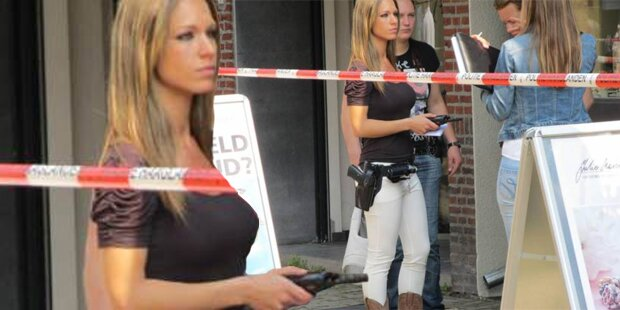 Heiße Polizistin begeistert Internet