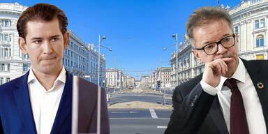 Sebastian Kurz und Rudolf Anschober: Lockdown-Hammer gilt ab Dienstag, 0 Uhr