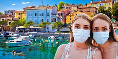 Jetzt Maskenpflicht in Kroatien und auf Mallorca