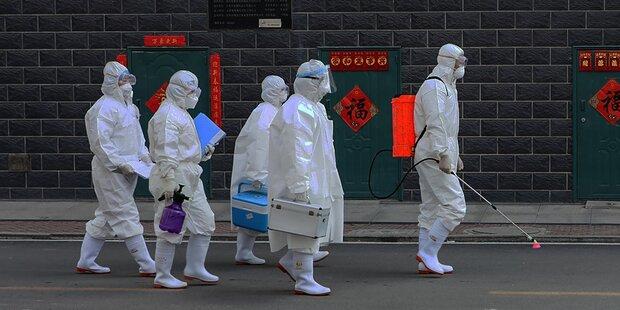 Verbreiter infizierte Menschen in 3 Ländern