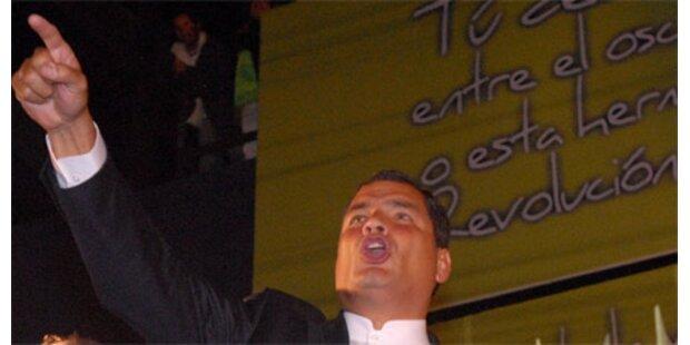 Correa in Ecuador wiedergewählt