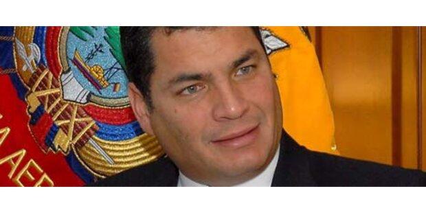 Mord an Ecuadors Präsidenten verhindert