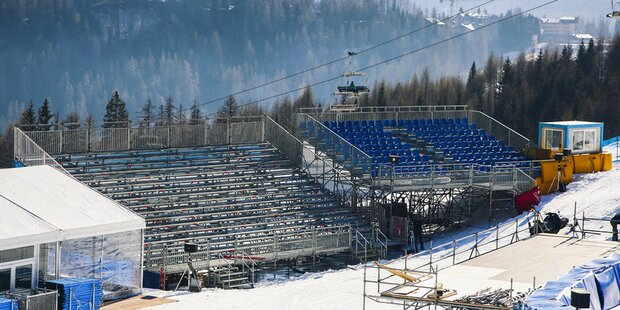 Alpines Ski-Weltcup-Finale in Cortina abgesagt